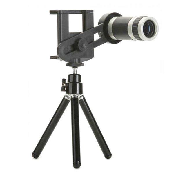 Toko Tele Lens Quality Telescope 8X Zoom Telezoom For Smartphone Hitam Di Indonesia