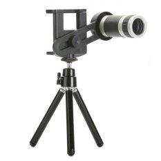 Toko Tele Lens Quality Telescope 8X Zoom Telezoom For Smartphone Hitam Tele Lens Indonesia