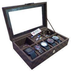 Tempat Jam Tangan Mix Tempat Accesories - Watch Box Organizer Damier