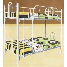 Tempat Tidur/Ranjang Susun Besi Tingkat (TANPA KASUR) HANYA JADETABEK BB 106