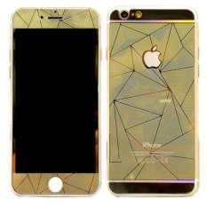 Tempered Glass Protector Diamond 3D iPhone 4/4s - Gold