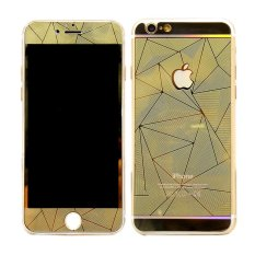 Diskon Tempered Glass Protector Diamond Colour For I Phone 5G Gold