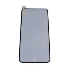 QC Tempered Glass Ring Full Black for iPhone 6 Plus / Iphone6 Plus / iPhone 6G Plus / Iphone 6S Plus / iPhone 6+ Ukuran 5.5 Inch Anti Gores Kaca / Screen Protection / Screen Guard / Pelindung Layar Handphone / Temper - Hitam
