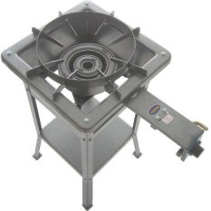 Tenno Gas GSMA-7B-TR  Kompor Gas High Pressure Automatic - Rangka Tinggi 75 cm - Silver