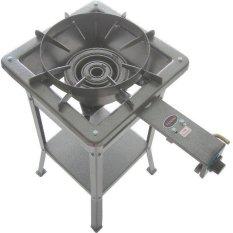 Tenno Gas GSMA-7BTA-TR  Kompor Gas High Pressure Automatic - Rangka Tinggi 60 cm - Silver