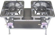 Tenno Gas GSTA-233-TR Kompor Gas Automatic 2 Tungku Rangka Tinggi 75 cm