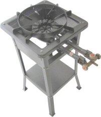 Tenno GSLA-30TA-TR Kompor Gas Tekanan Tinggi/High Pressure Manual + Rangka Tinggi 60 cm