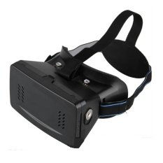 Harga Terios Kacamata 3D Vr 6 Inci Google Cardboard Plastic Virtual Reality Glasses Hitam Branded