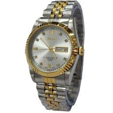 Spesifikasi Tetonis T5069Tc Jam Tangan Pria Stainless Steel Silver Gold Lengkap