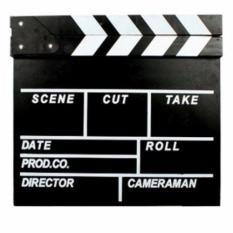 Ulasan Lengkap Third Party Clapper Papan Film Director Board Aksesoris Foto Hitam