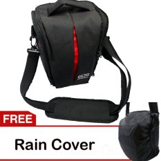 Dimana Beli Third Party Tas Kamera Canon Eos Hitam Seri U Free Rain Cover Silica Gel Blue Third Party