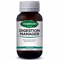 Thompson S Digestion Manager Meredakan Mual Nyeri Perut 60 Capsules Promo Beli 1 Gratis 1