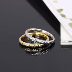 Jual Tiaria Sparkle Mesh Ring Perhiasan Cincin Emas 18K Di Bawah Harga
