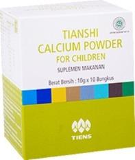 Jual Tiens Kalsium Anak Tiens Susu Peninggi Badan Anak Ori