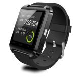 Promo Tifo Smartwatch U Watch U8 Bluetooth Hitam Tifo Terbaru