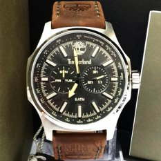 Timberland TBL14814JS - Jam Tangan Casual Classic Pria Elegant - Fiture  Chronograph - Strap Leather Brown 416e80c6e0