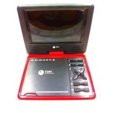 Tori Dvd Player Portable 10 - Merah By Fantasy..