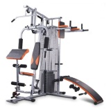 Beli Barang Total Fitness Alat Latihan Angkat Beban Home Gym 3 Sisi Type Hg 8309 Max Beban 75 Kg Online