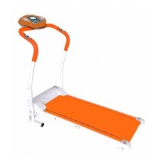 Total Fitness Motorized Treadmill ID001M Orange - Gratis Pengiriman & Instalasi Khusus JABODETABEK, Surabaya dan Sidoarjo