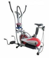 Total Fitness Sepeda Statis Orbitrack Merah - Gratis Pengiriman & Instalasi Khusus JABODETABEK, Surabaya dan Sidoarjo
