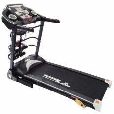 Free Ongkir Seluruh Indonesia - Total Fitness - Treadmill elektrik 3 fungsi TL 8600 Motor DC 2.0 HP - Alat Fitness - Gym Olahraga - Best Seller Product