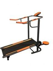 Total Fitness Treadmill Manual TL002 Hitam - Gratis Pengiriman & Instalasi Khusus JABODETABEK, Surabaya dan Sidoarjo