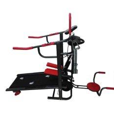 Total Fitness Treadmill Manual TL004 Hitam Merah - Gratis Pengiriman & Instalasi Khusus JABODETABEK, Surabaya dan Sidoarjo