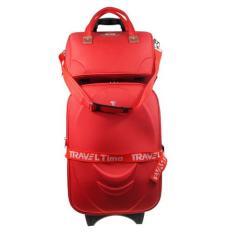 Jual Traveltime 5459 Set Koper 20 6189 Tote Bag Merah Gratis Pengiriman Jabodetabek