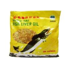 Beli Tunghai Fish Liver Oil Minyak Ikan 500 Softgel Online Murah
