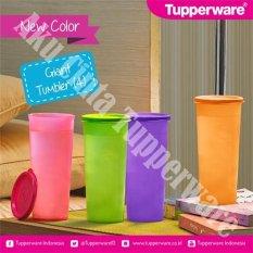 Jual Tupperware Giant Tumbler Multicolor 4 Pcs Branded