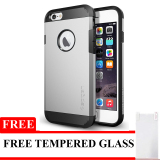 Harga Twin Slim Armor For Iphone 5 Silver Gratis Tempered Glass Baru