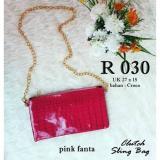 Spesifikasi Ubutik Korean Bag Wanita Tas Selempang Sling Bag Wanita Glossy Fanta Murah Berkualitas