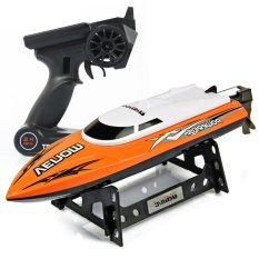 UDI 001 Tempo Power Venom 2.4G RC Boat High Speed Racing Yacht - Oranye