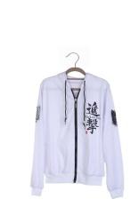 Toko Ufosuit Attack On Titan Hoodie Sweater Putih Terlengkap