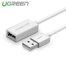 UGREEN 1 M USB 2,0 Kabel Ekstensi USB Male For Perempuan Extender Case Kabel Aluminium Paduan