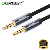 Ongkos Kirim Ugreen 3 5Mm Papan 3 5Mm Audio Jack Kabel Benang Bradied 1 M International Di Tiongkok