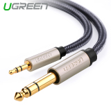 Jual Cepat Ugreen 3 5Mm Ke 6 35Mm Jack Adaptor Kabel Audio 1 5 M