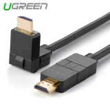 Spesifikasi Ugreen 3 M Kecepatan Tinggi Hdmi Kabel Sudut Kanan Can Diputar 90 180 Derajat Terbaru