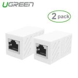 Spesifikasi Ugreen 8P8C Rj45 Kucing 6 Kabel Konektor Adaptor Jaringan 2 Pack International Ugreen