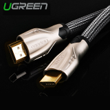 Spesifikasi Ugreen Hdmi Anyaman Nilon Kabel With Konektor Logam Seng Paduan Dukungan 3D 4 Kb X 2 Kb 1 5 M Internasional Dan Harga