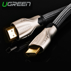 Harga Ugreen Hdmi Anyaman Nilon Kabel With Konektor Logam Seng Paduan Dukungan 3D 4 Kb X 2 Kb 3 M Internasional Murah