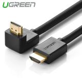Jual Ugreen Hdmi Kabel Dengan Ethernet 270 Derajat Sudut Kanan Mendukung 3D 4 K 5 M Intl Online