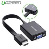 Harga Ugreen Kabel Hdmi Vga Dengan Adaptor Untuk Micro Usb Warna Hitam Murah