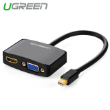 Beli Ugreen Mini Displayport Petir For Hdmi Vga Konverter Adaptor Hitam International Nyicil