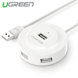 Jual Ugreen Usb 2 Hub 4 Port For Pc Laptop 2 M Putih Ugreen Murah