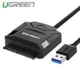Jual Ugreen Usb 3 Untuk Sata Kabel Konverter Untuk 6 35 Cm 8 89 Cm Sata Hdd Ssd Dengan Adaptor Listrik Steker Uni Eropa Online