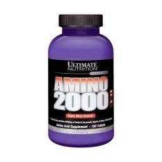 Ongkos Kirim Ultimate Nutrition Amino 2000 150 Tablet Di Banten