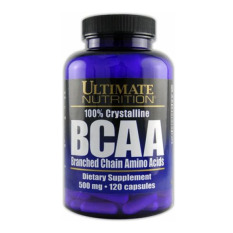 Jual Ultimate Nutrition Bcaa Menjaga Massa Otot 500Mg 120 Caps Ultimate Nutrition