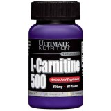 Jual Ultimate Nutrition L Carnitine 500 Mg Usp 60 Tabs Branded