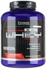 Ultimate Nutrition Prostar 100% Whey Protein 5.28 lb - Strawberry